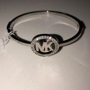 NWT Michael Kors silver bracelet